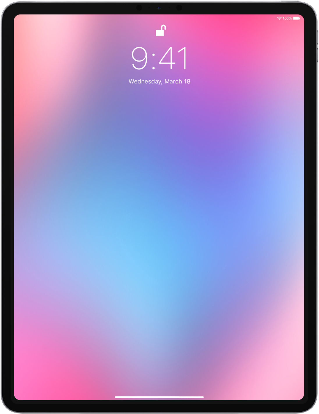 iPad Gradients & Backgrounds