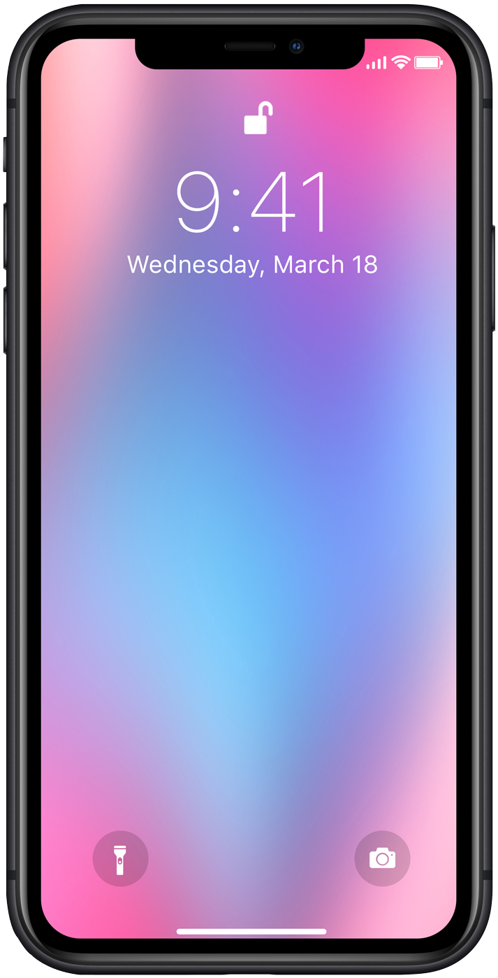 iPhone Gradients & Backgrounds
